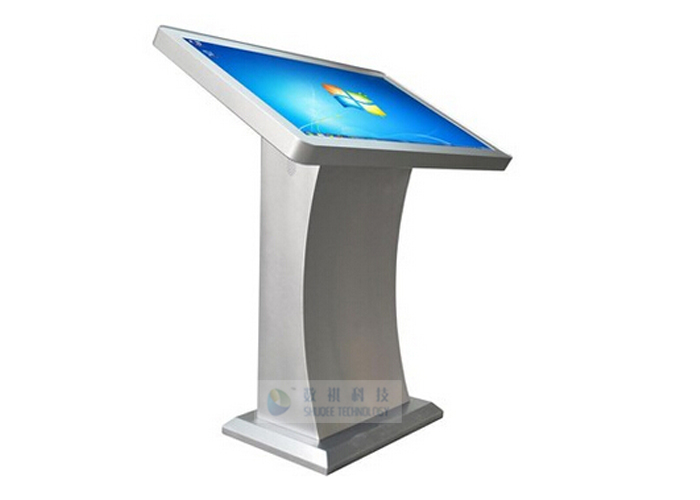 one in touch horizontal digital touch screen kiosk for. Black Bedroom Furniture Sets. Home Design Ideas