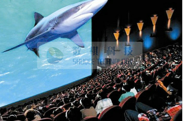 High definition 4D cinema system with 7 1 / 5 1 audio system , movie